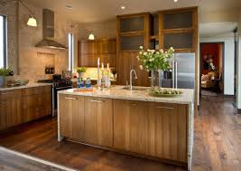 cabinet hickory kitchen beautiful hickory cabinets design best
