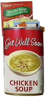 get well soon gift basket of appreciation gift baskets get well soon chicken soup tote