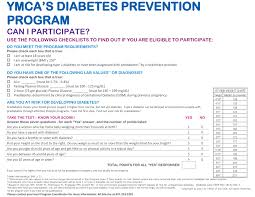 diabetes prevention program ymca of greater dayton