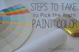 8 tips for choosing the right paint color