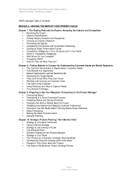 Product Management Resume Samples by The Product Managers Desk Reference