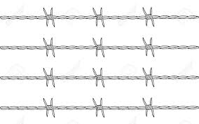 barbed wire clipart pinart and barbed wire royalty free