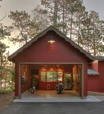 Barn Style Garage by Classic Gooseneck Barn Lights Give New Space U0027old Garage U0027 Feel
