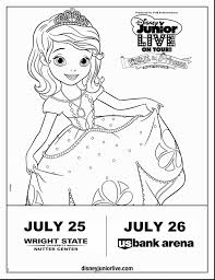 astounding disney jr sofia coloring pages princess sofia
