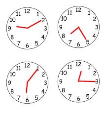 telling the time in english u2013