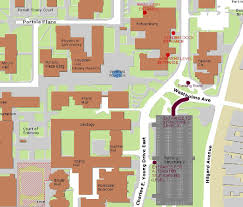 Map Of Ucla Parking Schoenberg Theaters