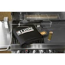 lion 40 inch stainless steel built in natural gas grill bbq guys
