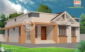 home design for 1100 sq ft 1100 sqft kerala style home design suits a 3 cent plot