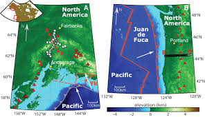 Portland Earthquake Map by Seismic Imaging Of Subduction Zone Metamorphism Geology