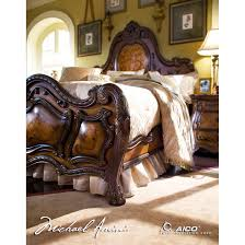 Michael Amini Bedding Clearance Aico Michael Amini 5pc Chateau Beauvais Queen Size Bedroom Set For