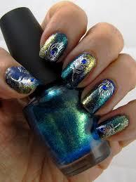 top 9 peacock nail art designs styles at life
