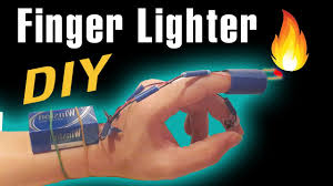 Things To Make At Home by Make A Finger Lighter At Home Funny Ideas Youtube
