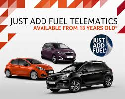 peugeot rental scheme peugeot just add fuel and go car deals robins u0026 day