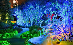 Glow Botanical Gardens The Holidays Begin Events Shows Shopping Atlanta Intown Paper