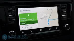 Google Maps Navigation Test Skoda Smartlink Mit Apple Carplay Und Android Auto