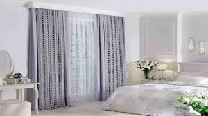 purple modern curtains designs for girls bedroom window treatment