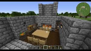 Minecraft Kitchen Furniture Modded Minecraft Tutorials Ep 2 Medieval Kitchen Youtube