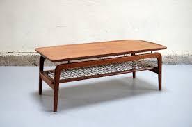 meubles design vintage table basse scandinave de salon danois teck design années 50 60 70