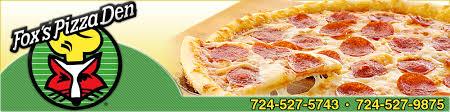 jeannette cuisine pizza restaurant jeannette pa fox s pizza den