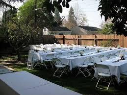 Simple Backyard Wedding Ideas Small Wedding Ideas Home Wedding Receptions Small Backyard