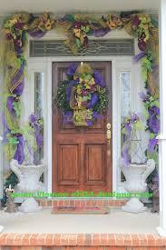 mardi gras door decorations flower child designs mardi gras madness