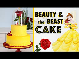 cake how to easiest beauty the beast cake how to make a princess wedding