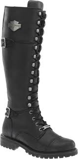 womens boots harley davidson harley davidson s beechwood 15 motorcycle boots black brn