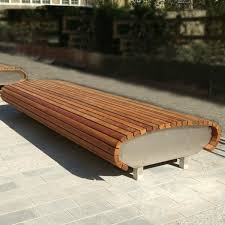 S Shaped Bench Best 25 Street Furniture Ideas On Pinterest Public Seating