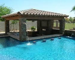 mediterranean pool with outdoor pool bar ideas the best outdoor retrieve mediterranean pool with outdoor pool bar ideas picture