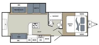 100 dutchmen travel trailers floor plans kodiak 299bhs by