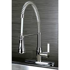 spiral kitchen faucet continental modern spiral pull chrome kitchen faucet free