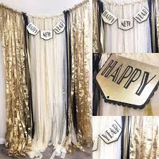 New Year S Eve Dinner Decoration by Best 25 New Years Eve Decorations Ideas On Pinterest New Years