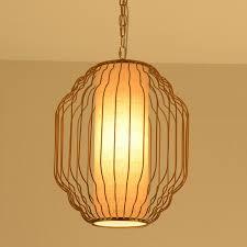 Zen Ceiling Light The New Modern Restaurant Pendant Light Cage Bar