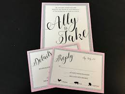 shaadi invitations reporter ally kraemer s diy wedding invitations are a labor of