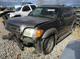 used toyota sequoia parts used 2002 toyota sequoia rear decklid tailgate w o spoiler p