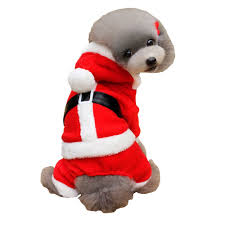 pet christmas lovoyager a1701 winter warm fleece dog hoodies coats christmas