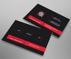 Business Card Design For It Professional 40 Best Company Profile Design Inspiration For Saudi Companies