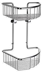 smedbo sideline bath accessories double corner soap basket dk1022