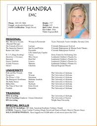 free acting resume template 9 acting resume template free skills based resume free actor resume