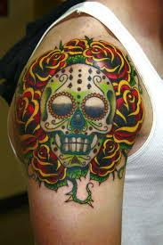 day of the dead skull tattoos verification bali travel