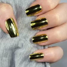 1g born pretty metallic mirror powder gold nail art chrome pigment