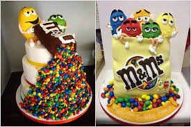 m m cake toppers celebrate your birthday with a smashing m m s cake
