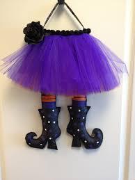 witches legs burlap door hanger 30 00 via etsy crafts