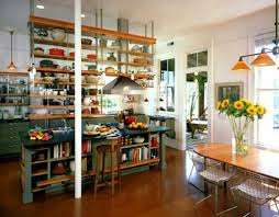 creative kitchen shelving ideas photos