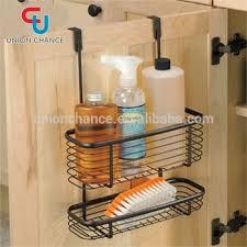 Cabinet Door Basket Door Hanging Basket Iron Cabinet Door Basket Household Cabinet