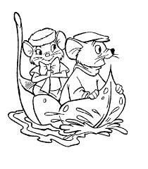 rescuers coloring pages coloringpages1001 color