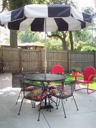 Retro Patio Furniture Sets Patio Furniture 35 Stupendous Patio Chair With Umbrella Images