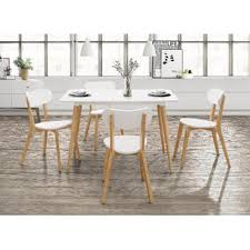 dining room table white modern kitchen dining tables allmodern