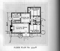 Dutch Colonial Revival House Plans by Sears Stanfords