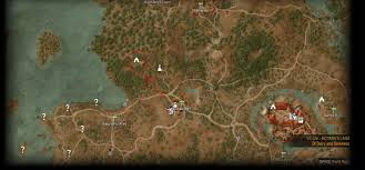 The Witcher 3 World Map by Scavanger Hunt Bear Witcher Gear Guide The Witcher 3 Wiki